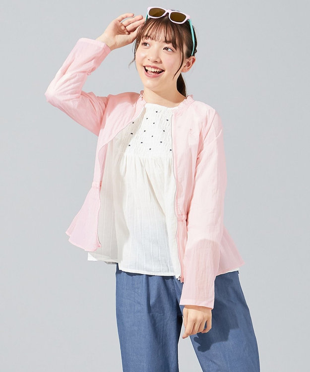 組曲 KIDS 【150-160cm】シアーブルゾン