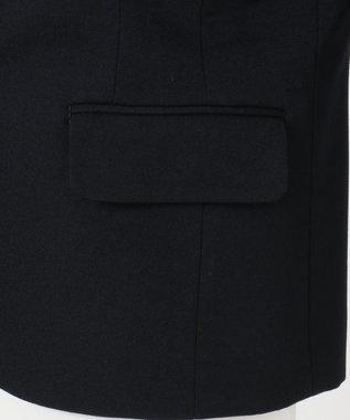 組曲 KIDS 【140-170cm】2/60フレアーギャバ ジャケット(2つボタン) ネイビー系