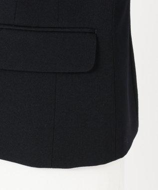 組曲 KIDS 【140-170cm】2/60フレアーギャバ  ジャケット(3つボタン) ネイビー系