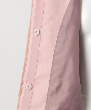 組曲 KIDS 【9周年記念WEB限定カラー有/110~170cm】エコファーブルゾン ピンク系
