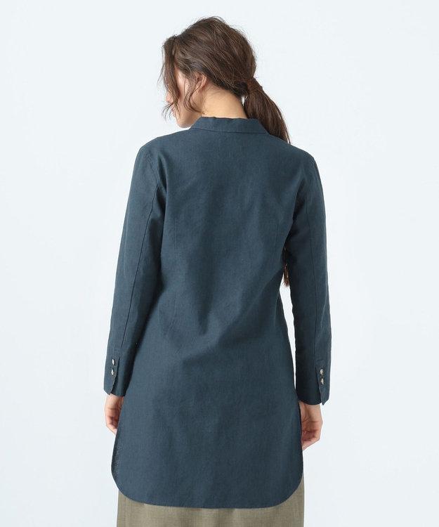SHARE PARK LADIES リネンロングジャケット