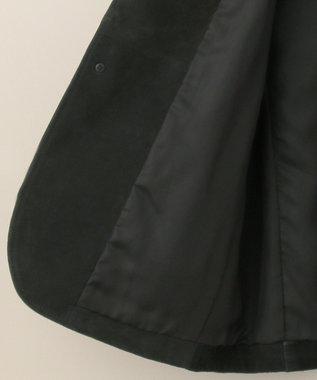 J.PRESS MEN 【WATERPROOF / PACKABLE】スエードレザー パッカブルジャケット ブラック系