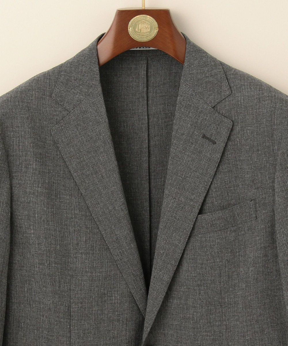 J.PRESS MEN 【J.PRESS PLUS】ウールライクポリエステルストレッチ ジャケット グレー系