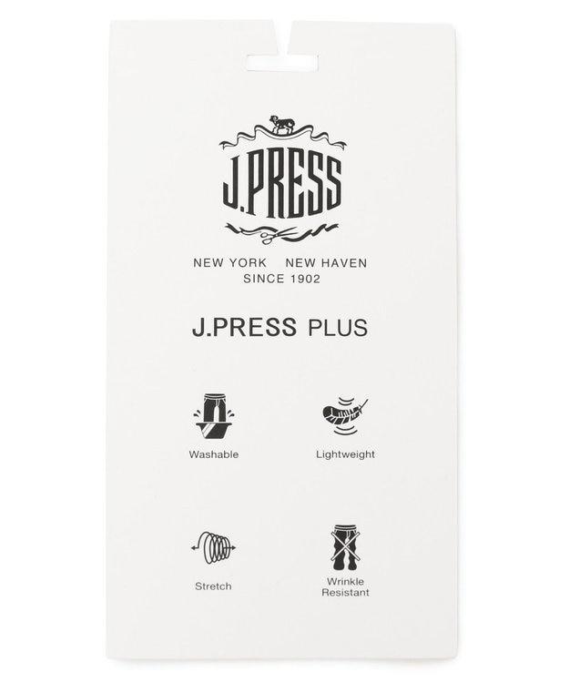 J.PRESS MEN 【J.PRESS PLUS】ウールライクポリエステルストレッチ ジャケット