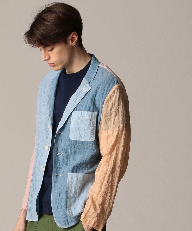 J.PRESS MEN 【キャッチワッシャー】クレイジーパターン ライトジャケット