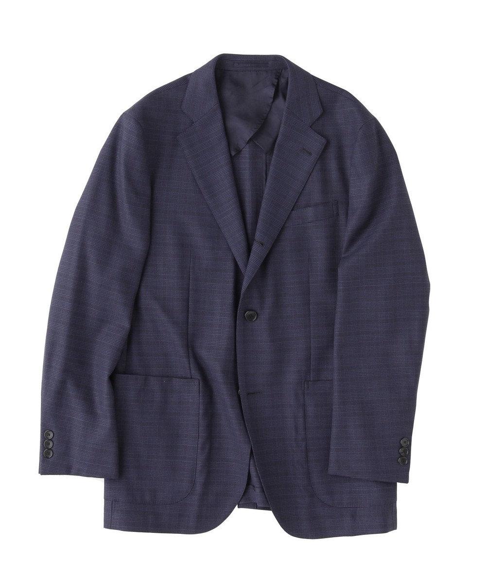 J.PRESS MEN 【PEPPIN MERINO】メッシュナイトグレナカート ジャケット ネイビー系3