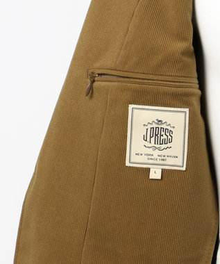 J.PRESS MEN 【J.PRESS PLUS】ラッセルコーデュロイ ジャケット キャメル系