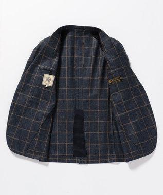 J.PRESS MEN 【LORO PIANA】リネンツイード ジャケット(検索番号W174) ネイビー系4