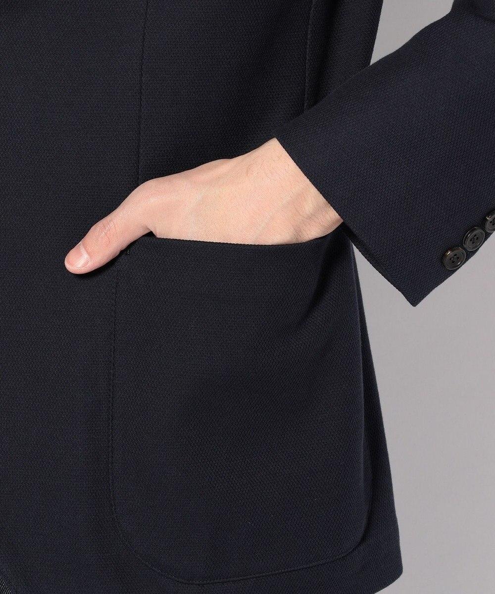 J.PRESS MEN 【ANGELICO】マイクロカノコ ジャケット ネイビー系