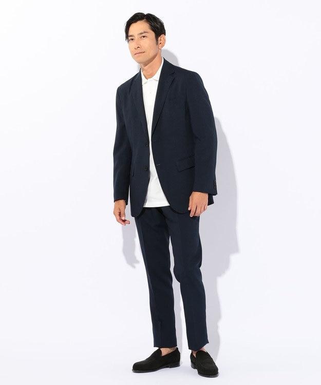 J.PRESS MEN 【シワになりづらい・軽量】ウールライクポリエステル ジャケット