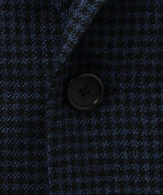 J.PRESS MEN 【カタログ掲載】カシミヤライクウール シェパードチェック ジャケット ブルー系3