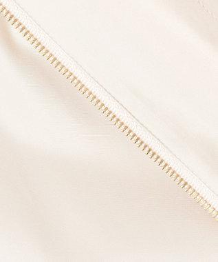 Feroux 【洗える】ボリュームギャザー ブルゾン ベージュ系