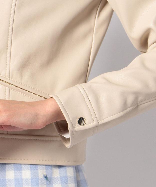 Feroux スプリングフェイクレザー ジャケット