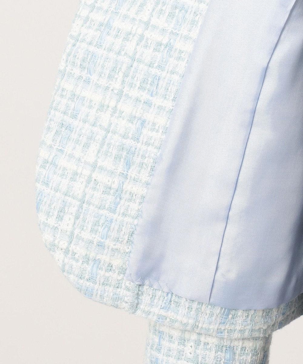 TOCCA BAMBINI 【SCHOOL】リボンツイード ジャケット サックスブルー系