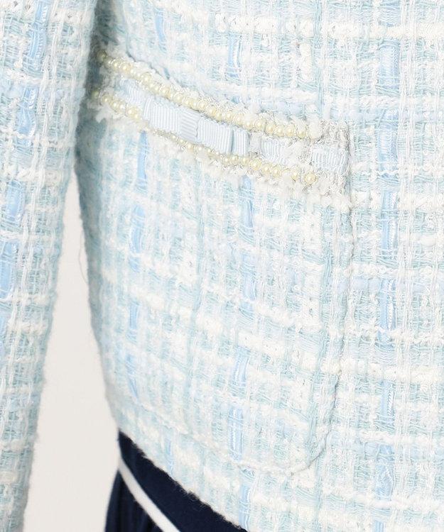 TOCCA BAMBINI 【SCHOOL】リボンツイード ジャケット