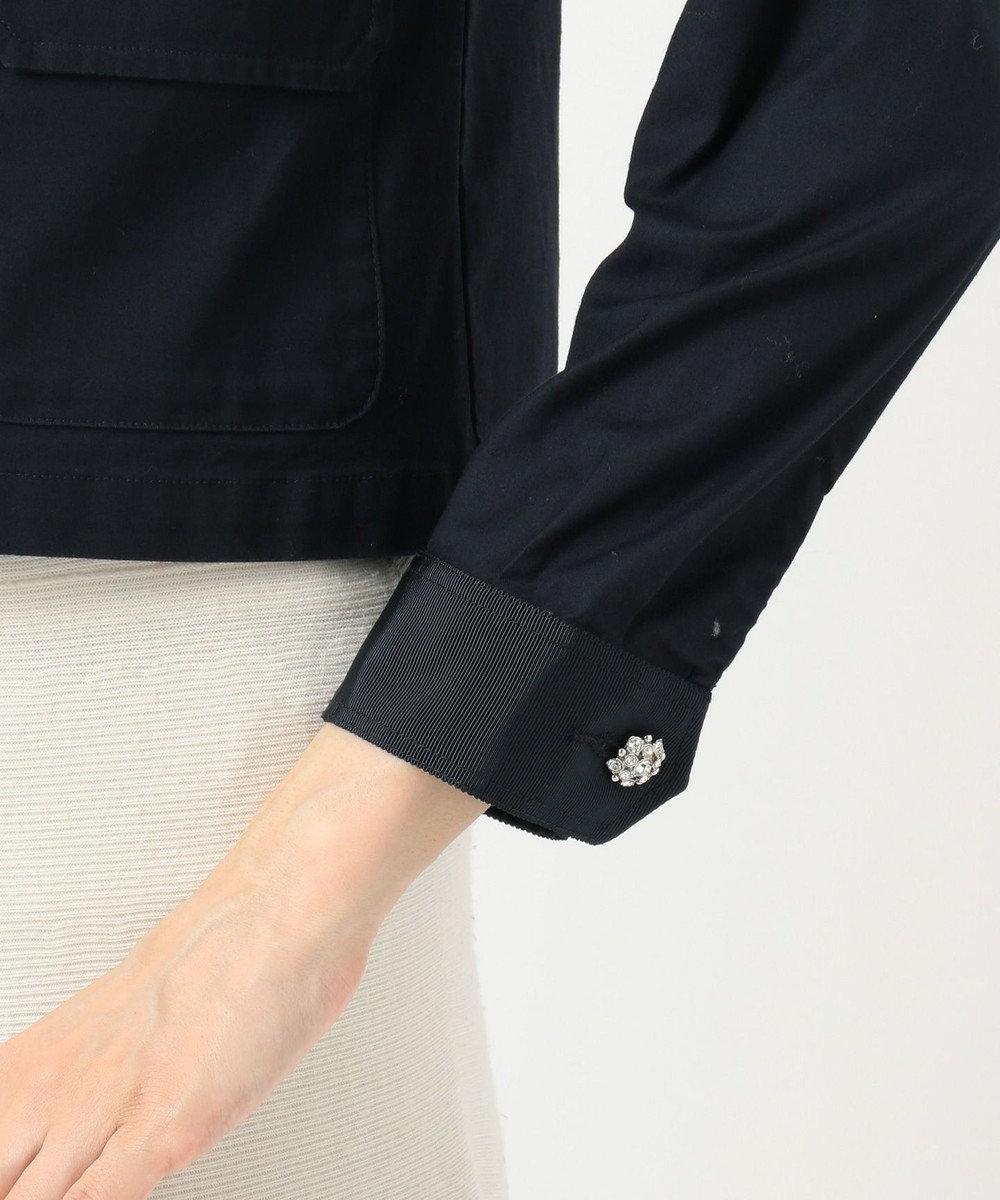 TOCCA 【洗える!】ASPHALT ミリタリージャケット ネイビー系