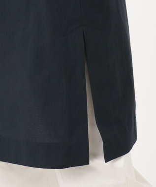 23区 コットンドライボイルライトジャケット ネイビー系