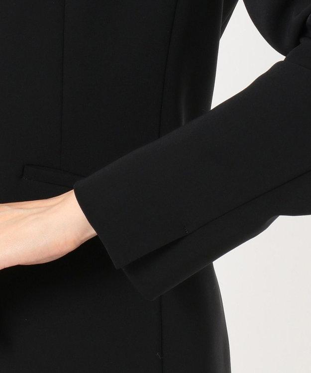 any SiS L 【セットアップ対応】セレモニーダブルクロス ノーカラー ジャケット