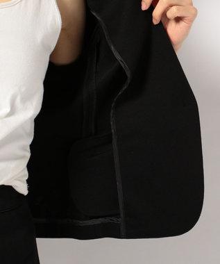 any SiS 【セットアップ対応】ライトクリアポンチ ジャケット ブラック系