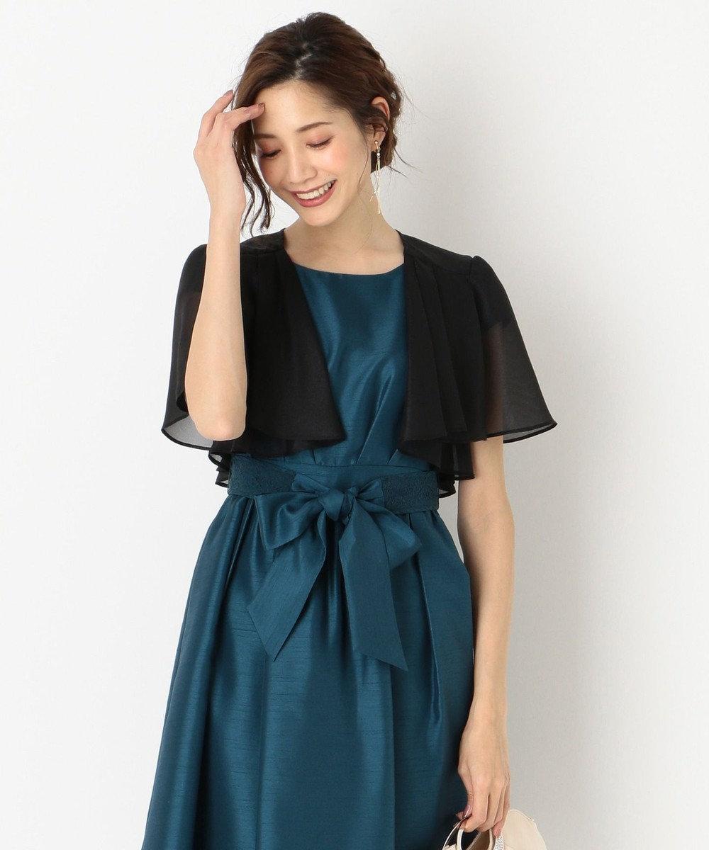 any SiS 【洗える】ノーブルフレア ボレロ ブラック系