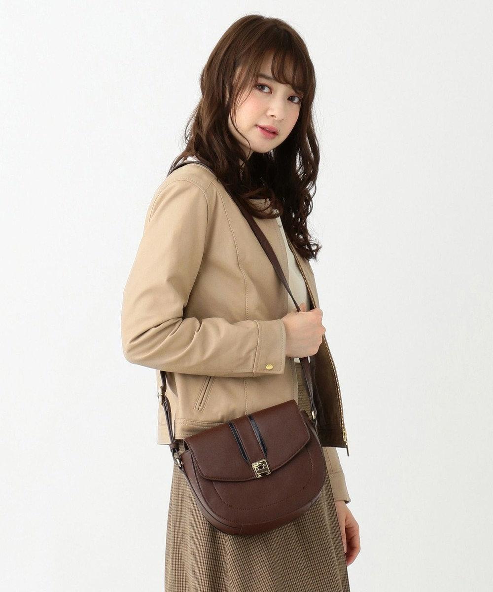 any SiS L 【本革】ソフトラムレザー ノーカラージャケット ベージュ系