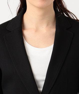 any SiS 【洗える・セットアップ対応】T/Rウォッシャブルスーツ ジャケット ブラック系