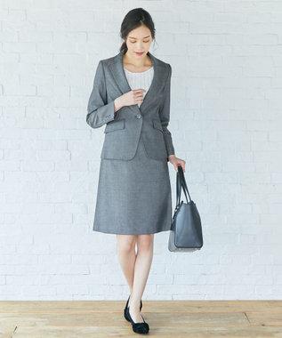 any SiS 【洗える・セットアップ対応】T/Rウォッシャブルスーツ ジャケット ブラック系1