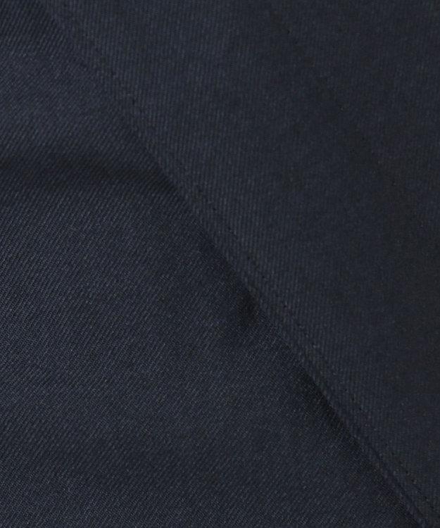 組曲 S 【Oggi5月号掲載】リネンライクベーシック ノーカラージャケット ネイビー系