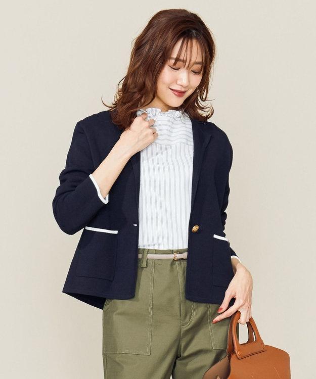 洗える Co Peミラノリブニットジャケット 組曲 Sファッション通販 公式通販 オンワード クローゼット