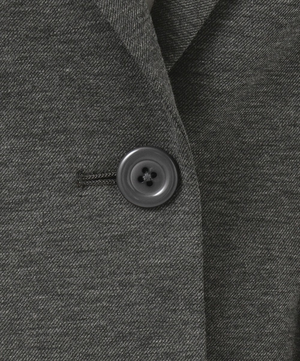 組曲 S 【セットアップ対応】Octaツイルジャージ テーラードジャケット グレー系