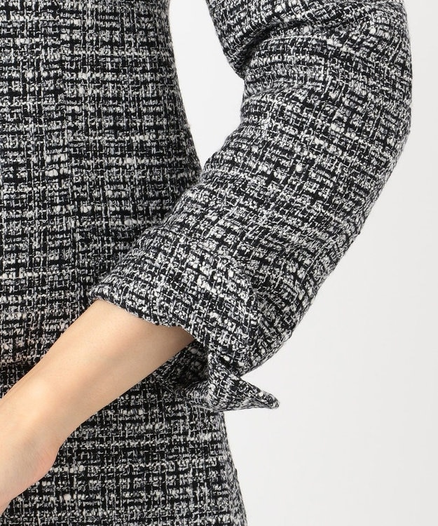 組曲 S 【セットアップ対応】ラメループモールツイード カラーレスジャケット