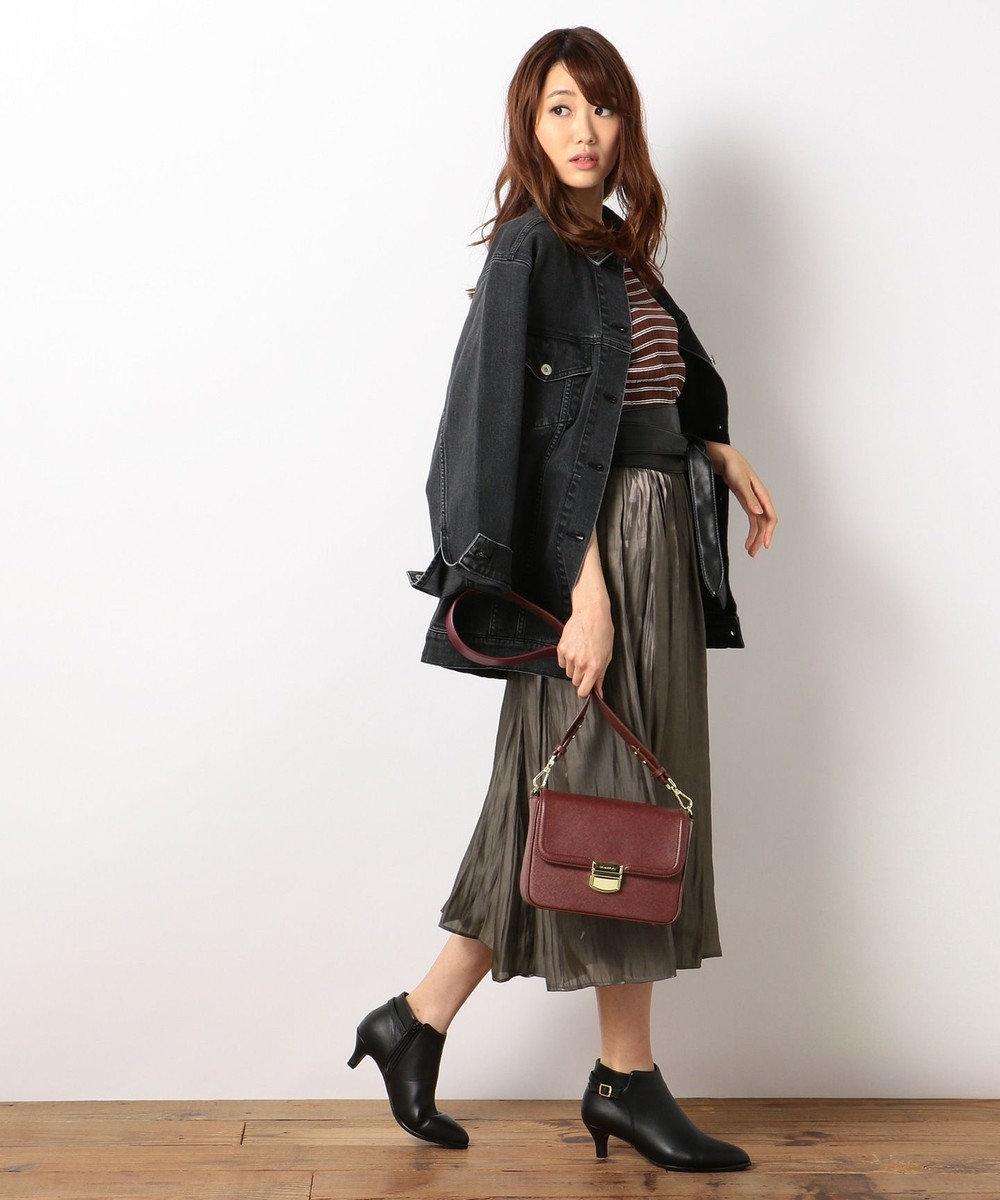 組曲 【洗える】ニュースタイルデニム ジャケット ブラック系