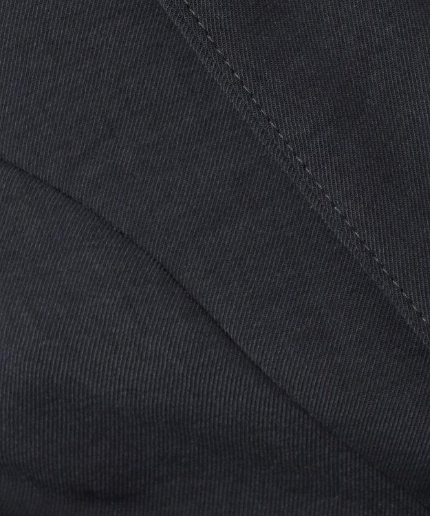 組曲 S 【イージーケア】リネンライクセットアップ カラーレスジャケット
