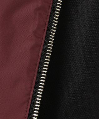 CK CALVIN KLEIN MEN 【リバーシブル】ジオメトリック ツイルリバー ウィンドブレーカー ブラック系