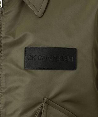 CK CALVIN KLEIN MEN 【2019SS新作】ナイロンサテン ブルゾン カーキ系