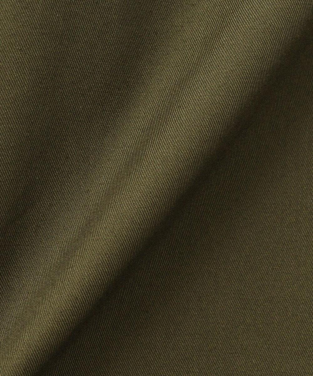CK CALVIN KLEIN MEN 【ミリタリー】コンパクトコットンギャバジン ブルゾン カーキ系