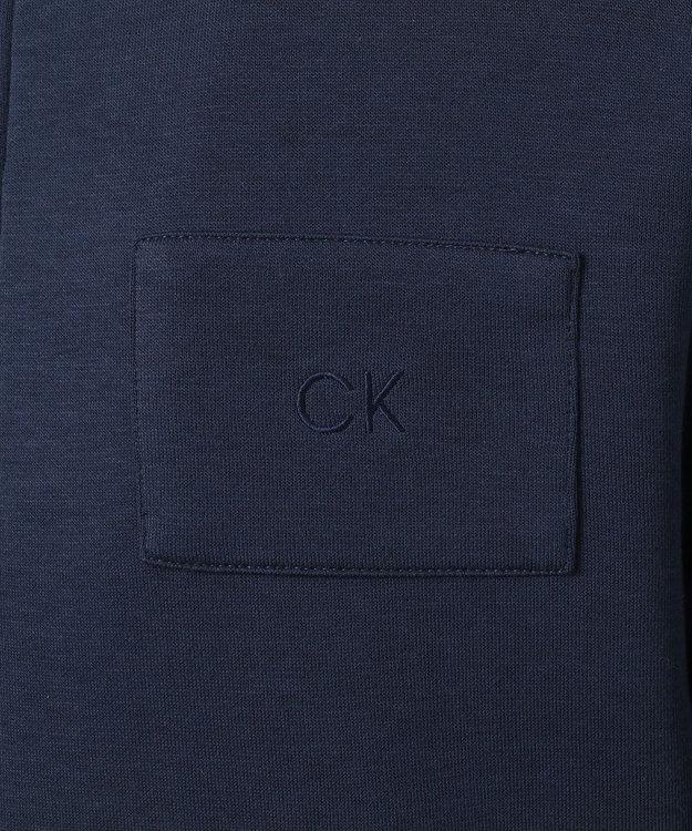 CK CALVIN KLEIN MEN 【クルーズコレクション】テックダブルフェイスジャージー