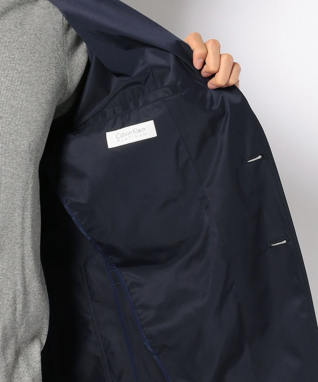 CK CALVIN KLEIN MEN リモンタツイル テーラードジャケット