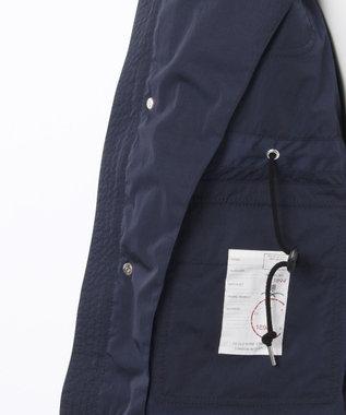 DAKS ナイロンタイプライターフィールドジャケット ネイビー系