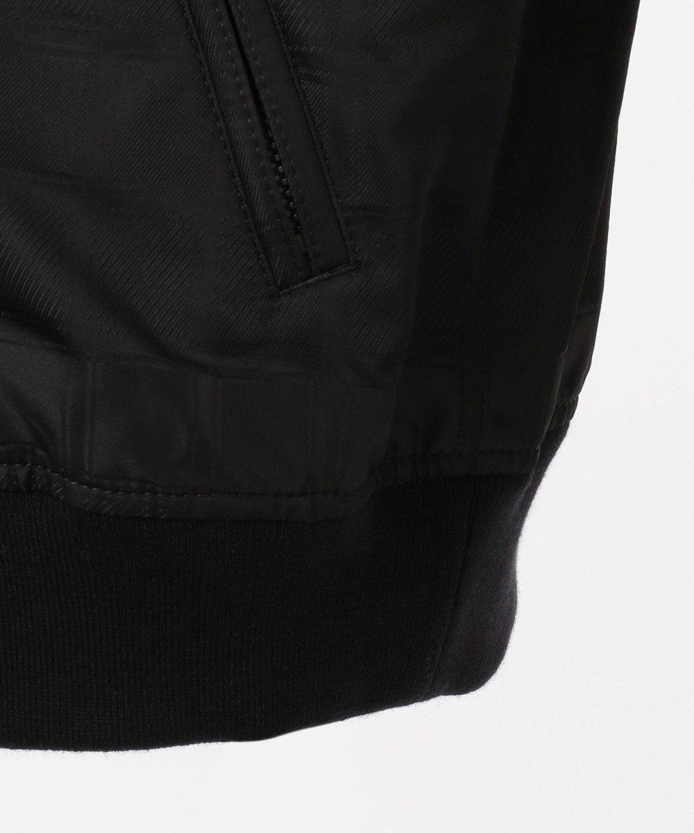 DAKS 【125周年】シャドーチェック ブルゾン ブラック系3
