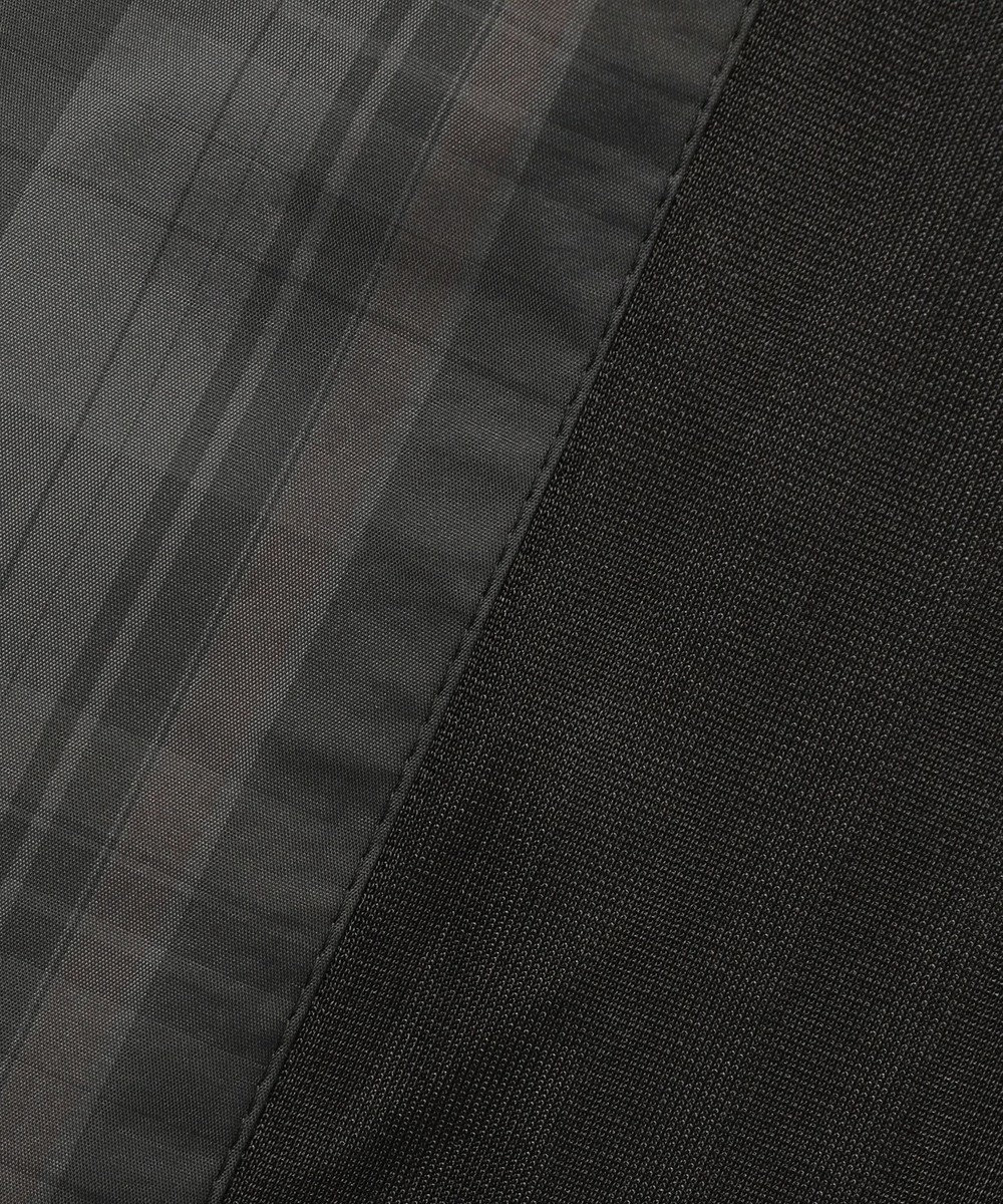 DAKS GOLF 【MEN】アイリッシュチェックタフタ ブルゾン ブラック系3