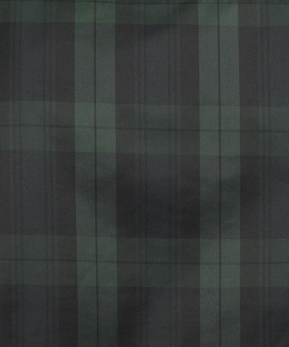 DAKS GOLF 【MEN】アイリッシュチェックタフタ ブルゾン ダークグリーン系3