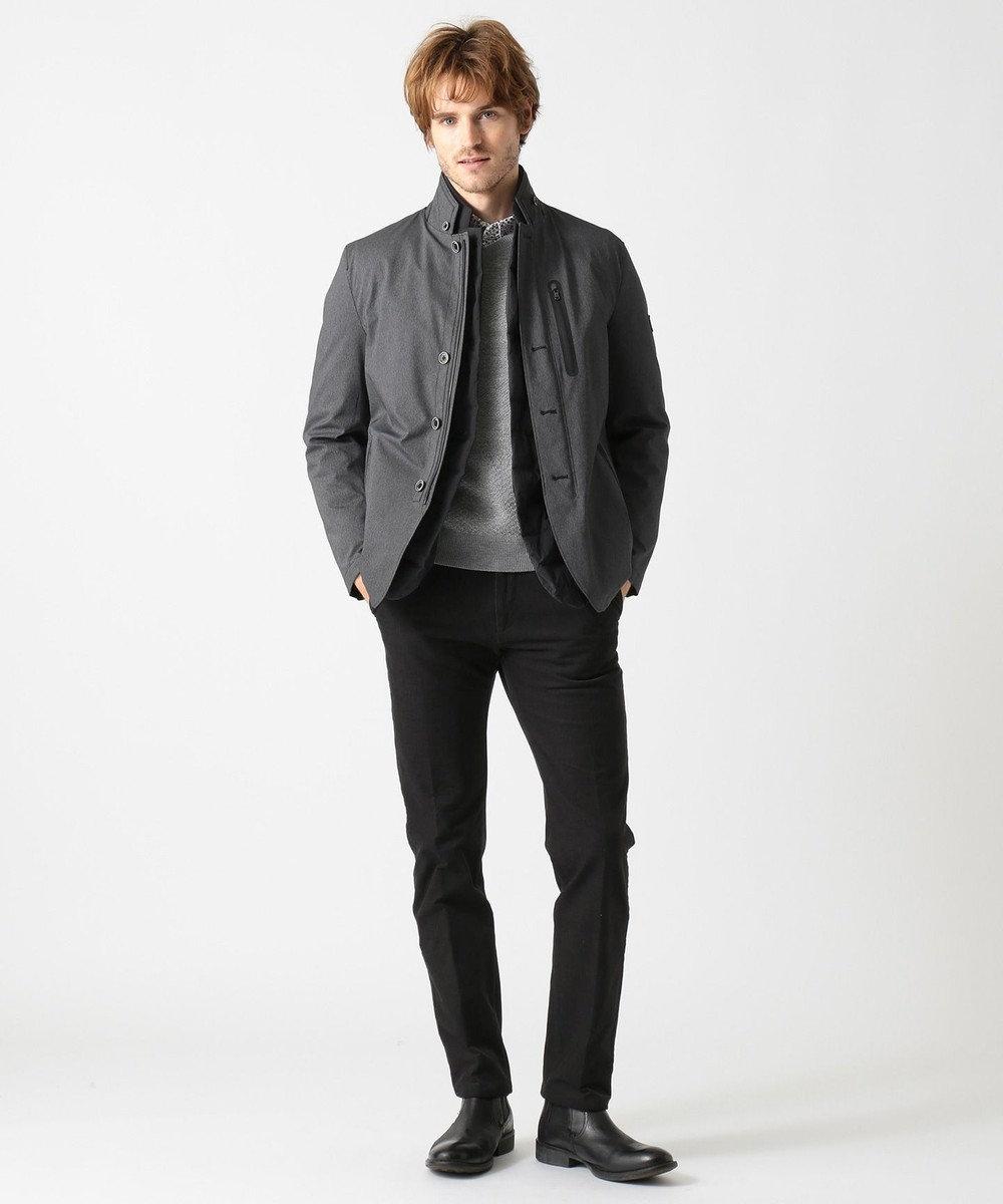JOSEPH ABBOUD 【キングサイズ・1着3役!!】Wストレッチダウン ブルゾン グレー系1