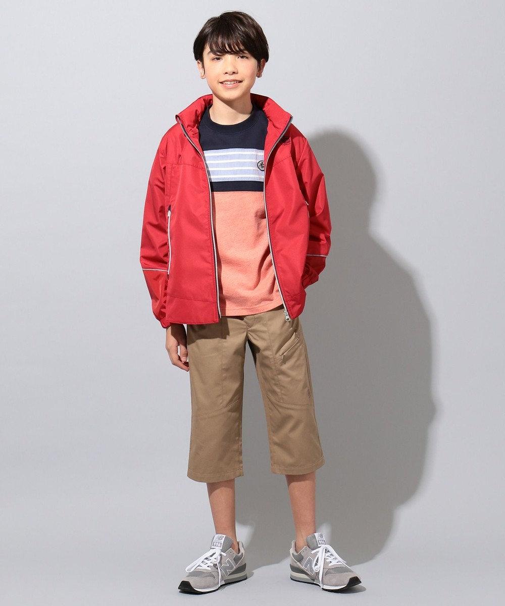J.PRESS KIDS 【撥水/140-170cm】ハイマルチタフタ ブルゾン レッド系