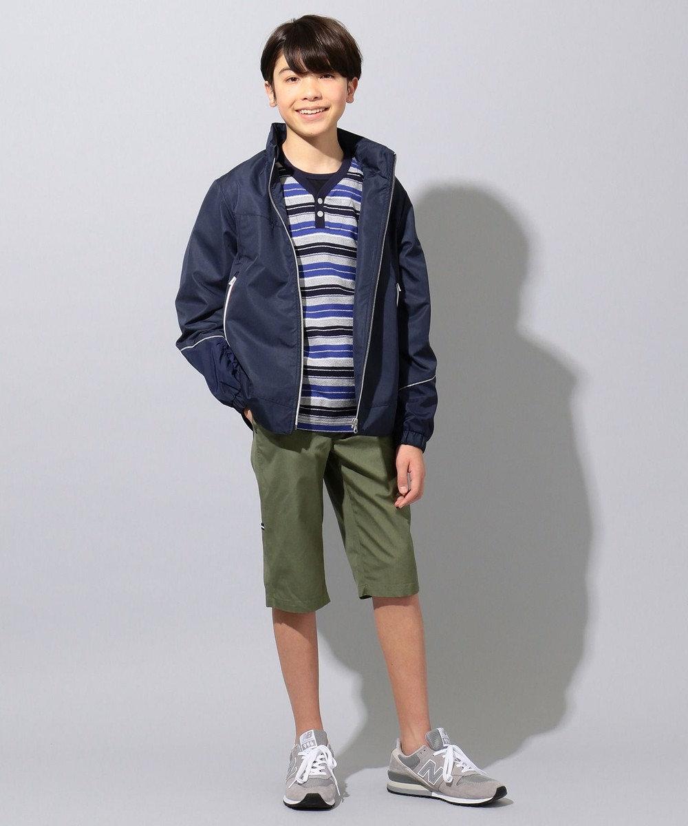 J.PRESS KIDS 【撥水/140-170cm】ハイマルチタフタ ブルゾン ネイビー系