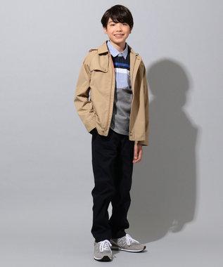 J.PRESS KIDS 【撥水・撥油/140-170cm】ナノウィング ウェザー トレンチ風 ブルゾン ベージュ系