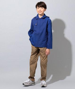 J.PRESS KIDS 【撥水・撥油/140-170cm】ナノウィング ウェザー トレンチ風 ブルゾン ブルー系