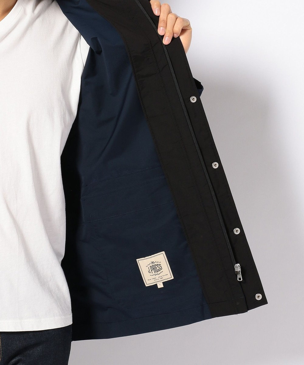 J.PRESS MEN 【メモリーツイル】ゲームジャケット ブルゾン (検索番号W144) ネイビー系