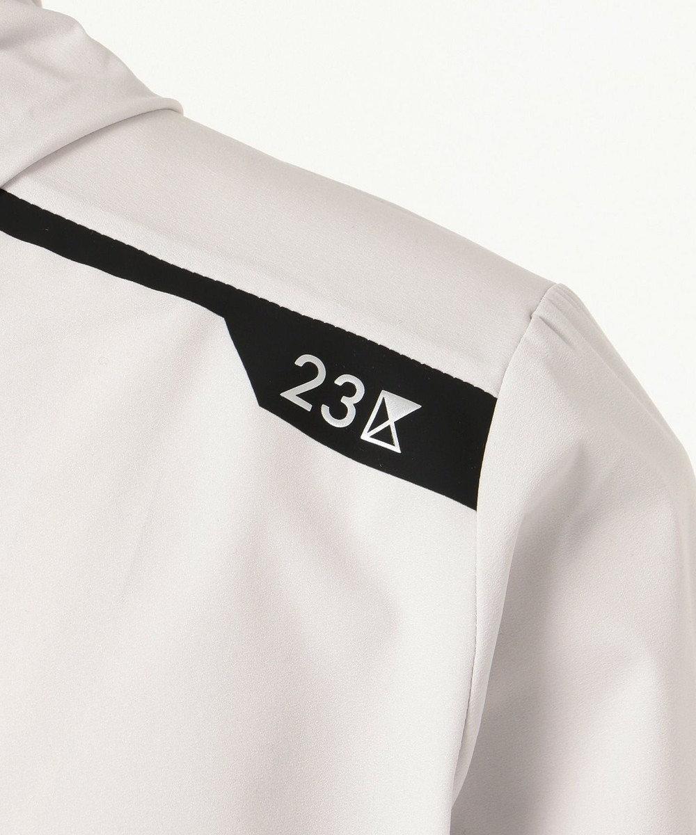 23区GOLF 【MEN】【IMPORT】無地ブルゾン ホワイト系