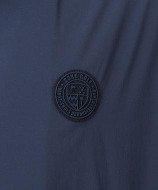 23区GOLF 【MEN】【ストレッチ/撥水】【ポケッタブル仕様】パンチング ブルゾン ネイビー系